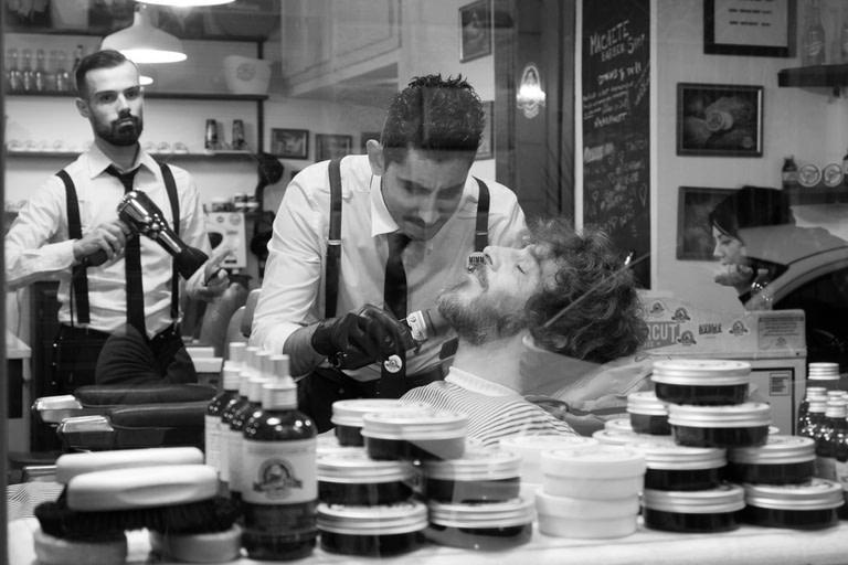 Machete Barber Shop, Rome